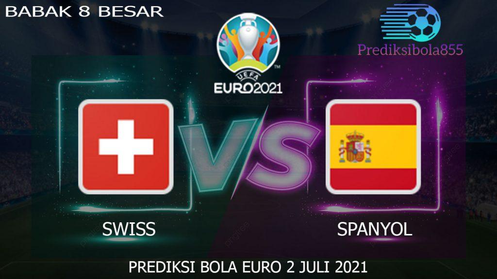 Babak 8 Besar EURO 2021/2020, Swiss Vs Spanyol. Prediksibola855.net