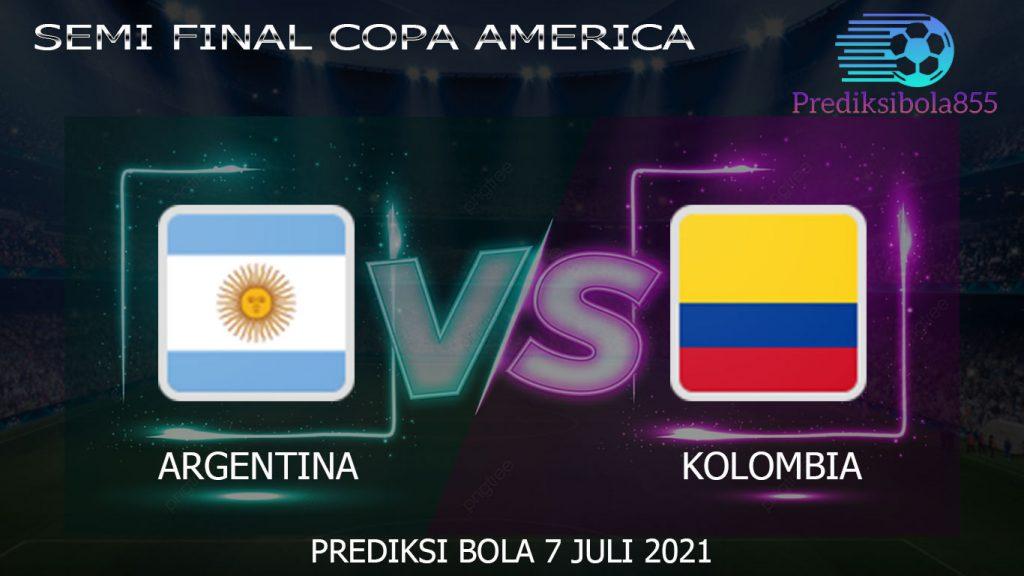 Semi Final Copa America, Argentina Vs Kolombia. Prediksibola855.net