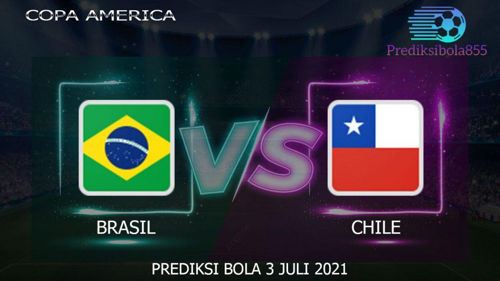 Copa America, Brasil vs Chile. Prediksibola855.net