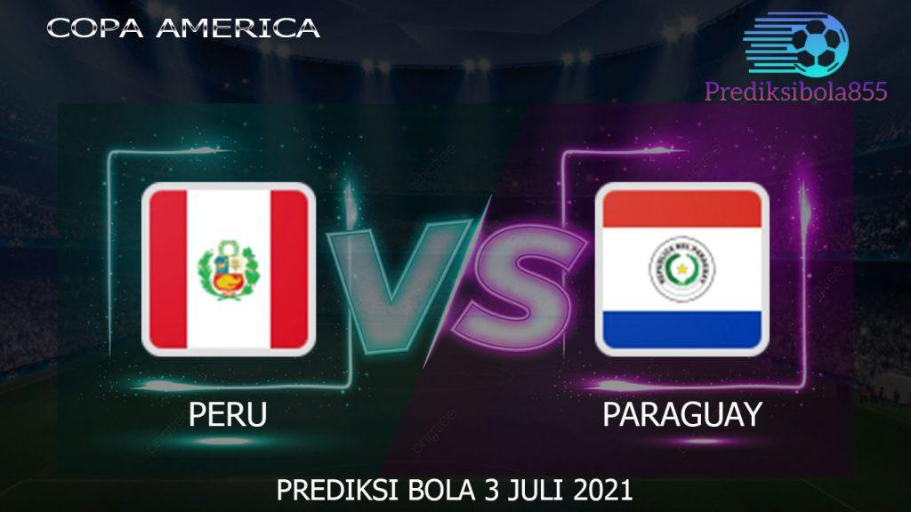 Copa America, Peru Vs Paraguay. Prediksibola855.net