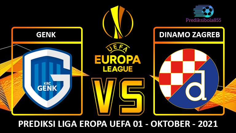 Liga Eropa UEFA - Genk Vs Dinamo Zagreb. Prediksibola855.net