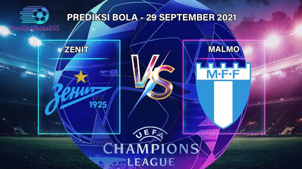 Liga Champions UEFA - Zenit Vs Malmo. Prediksibola855.net