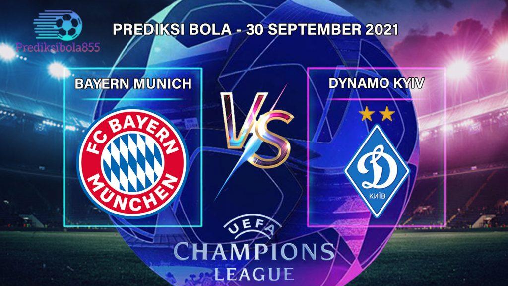 Liga Champions UEFA - Bayern Vs Dynamo Kyiv. Prediksibola855.net