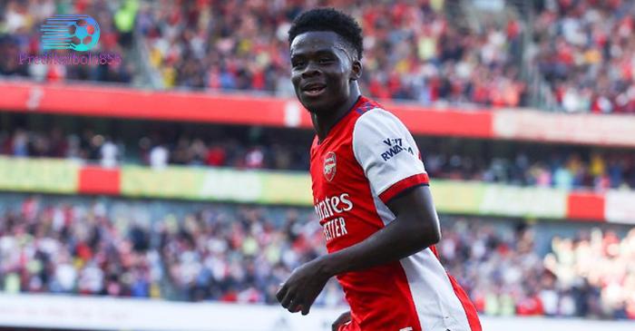Bintang muda Arsenal dan Timnas Inggris, Bukayo Saka. Prediksibola855.net